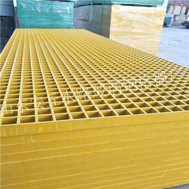 玻璃钢格栅厂家产品应用到路面的优势