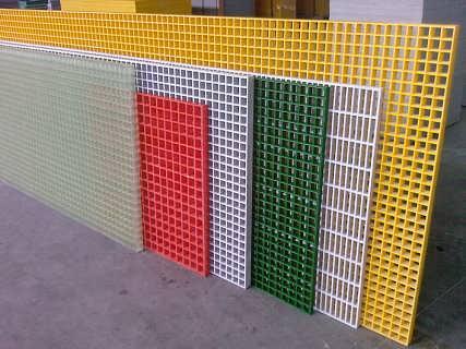 玻璃钢格栅的原材料使用