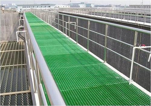 玻璃钢格栅在污水处理厂的主要应用