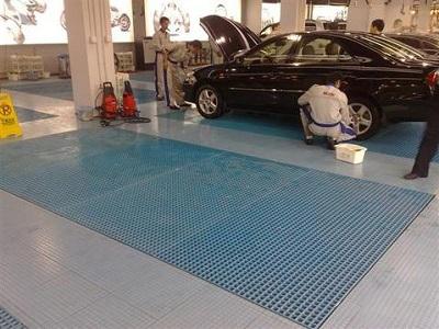洗车房玻璃钢格栅如何选择尺寸?