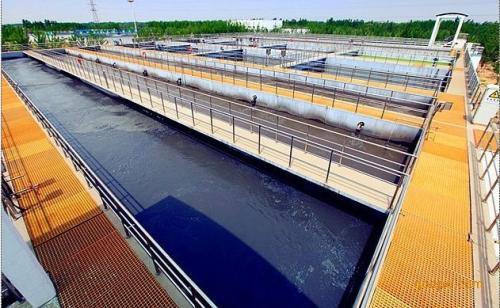 印染厂污水处理可以用玻璃钢格栅吗